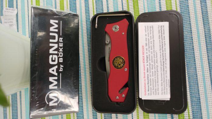Magnum Fire Dept Lieferumfang
