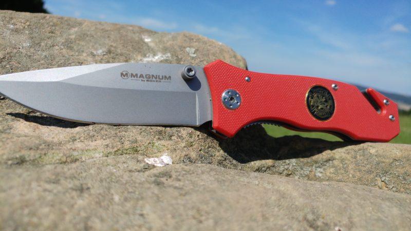 Magnum Fire Dept Rettungsmesser